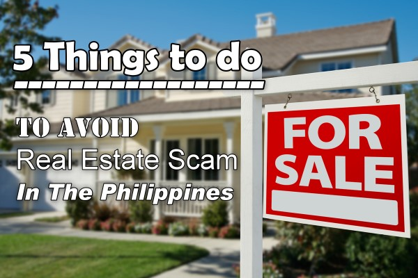 5 Things To Do To Avoid A Real Estate Scam